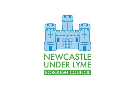 Newcastle Under Lyme Borough Council logo