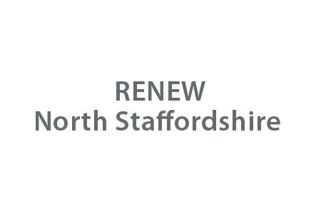 RENEW North Staffordshire logo